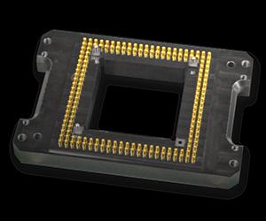 Low pin count pogo pin blocks