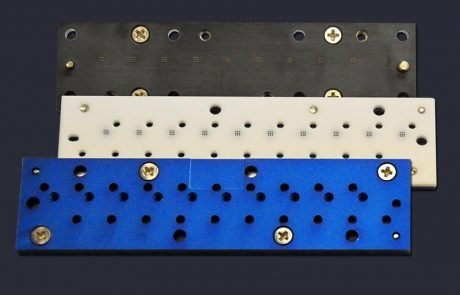 Ten site MEMs sensor cartridge carrier and pin block in stages