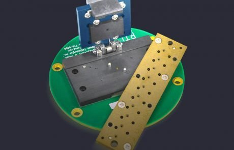 Torlon cartridge carrier and single site ATE clamshell socket on PCB