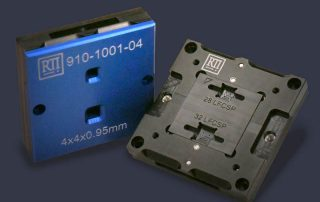 dual site different packages bare die ic test socket