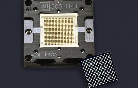 floating base bga test socket