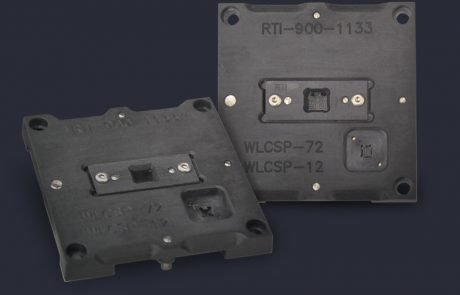 Single WLCSP test socket capable of testing multiple packages