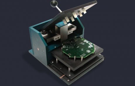 750 test press and interface module for PCB module