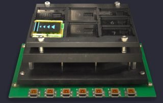 Multi site interface module for use with 750 test press