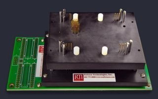 Bed of nails interface module for PCB testing