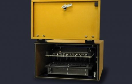 Faraday cage housing pneumatic 752 series test press
