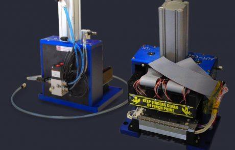Multi site pneumatic test press for MEMs sensor devices