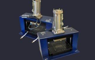 755 series MEMs sensor test press with gasket for pressure testing