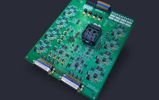 Complex burn-in and HAST evaluation board