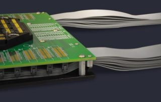 Bunched cables and standoff bases for remote docking fixtures